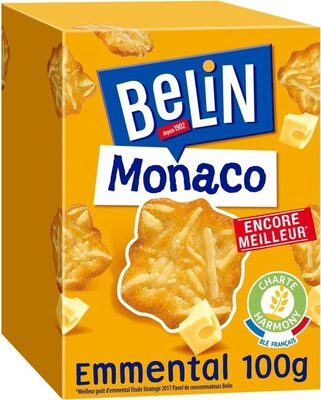 Monaco Biscuits crackers à l'emmental - Product - fr