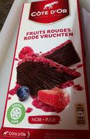 Noir Fruits rouges - Product