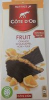 Chocolat noir Fruit Orange - Produit