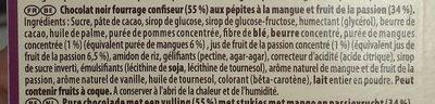 Fruit Passion Noir - Ingredients