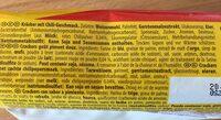 TUC Sweet Chili Flavour - Ingrédients - fr