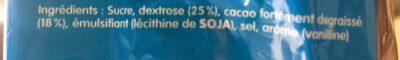 Suchard express - Ingredients - fr