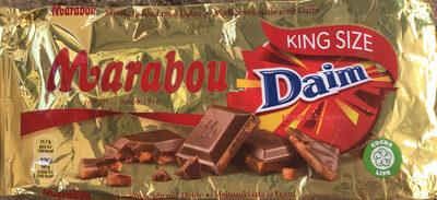 Milch schokolade mit Daim - Product - fr
