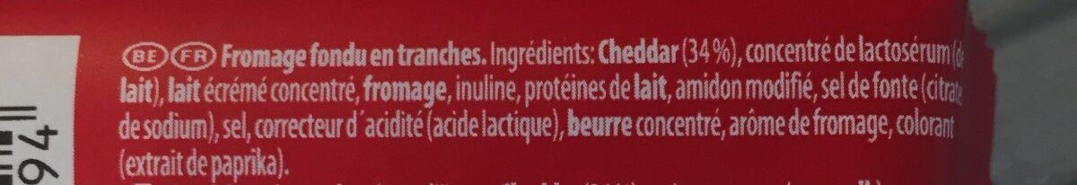 Ziz - Ingrediënten - fr