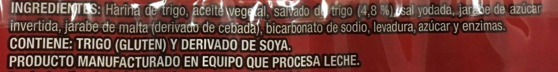 Kraker bran - Ingredients - es