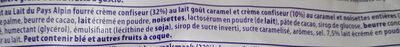 MMMAX chocolate con leche, caramelo y avellanas enteras - Ingrédients - fr