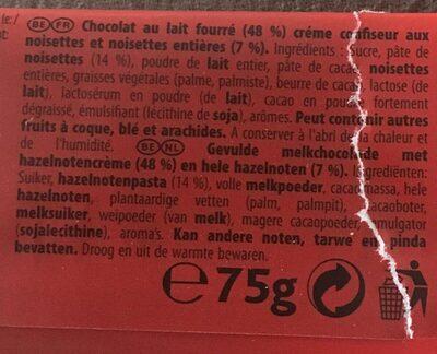 Big Nuts - Ingrediënten
