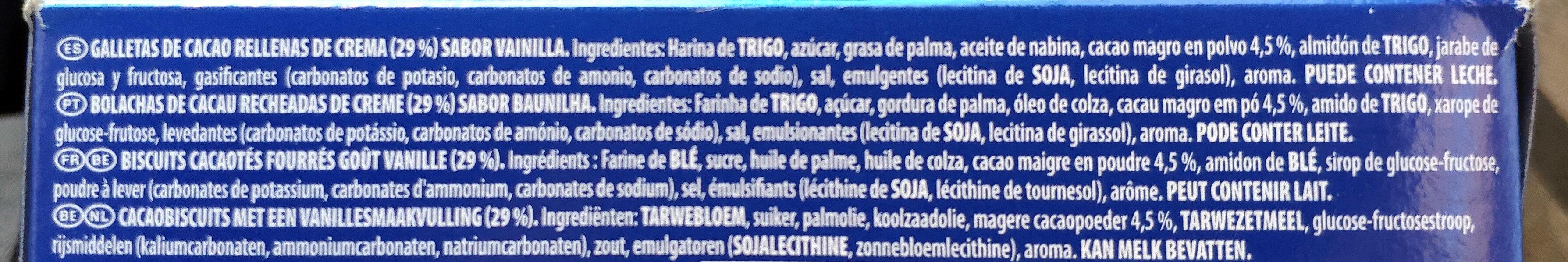 Mini Oreo - Ingredients - fr