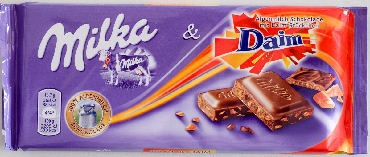 Milka & Daim - Produit