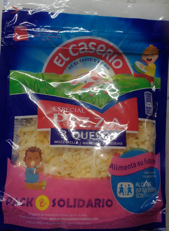 Especial pizza 3 quesos - Producte - es