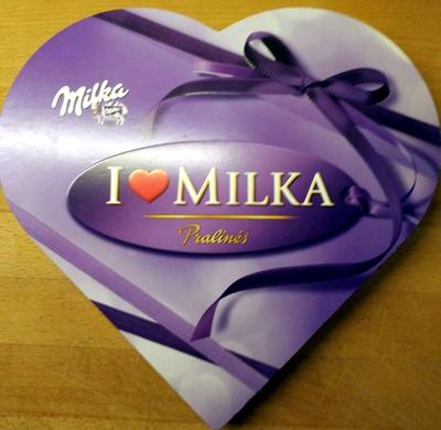 i Love Milka Pralinés - Produit