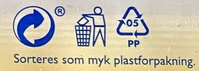 Freia Melkesjokolade med Daim - Recycling instructions and/or packaging information - nb