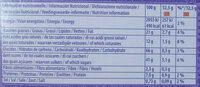 Choco Biscuits - Nutrition facts - fr