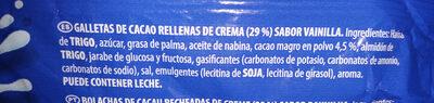 Original - Ingredients - es