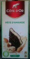 Noir fourré à la Pâte d\'Amande Côte d\'Or - Product
