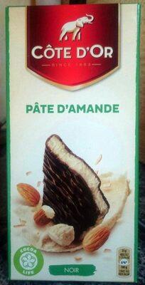 Chocolat noir fourré Pâte d'Amande - Produit - fr