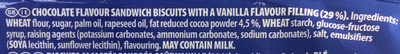 Oreo original - Ingredients