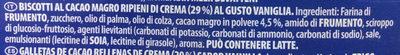 Oreo original - Ingredienti