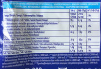 Oreo original - Nutrition facts