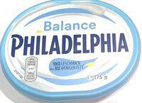 Philadelphia Balance - Informations nutritionnelles - de