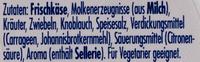 Philadelphia Kräuter - Ingredientes - de