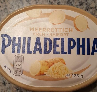 Philadelphia - Meerrettich - Produit - fr