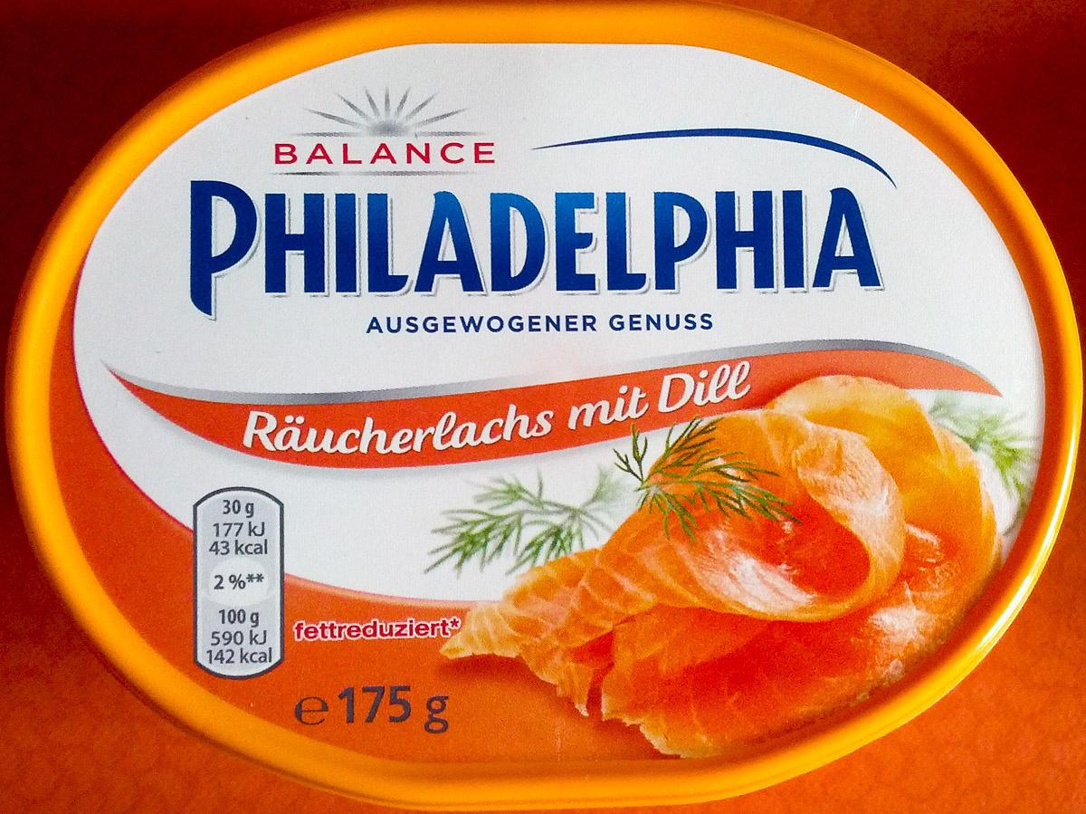 Philadelphia Räucherlachs mit Dill - Product - de