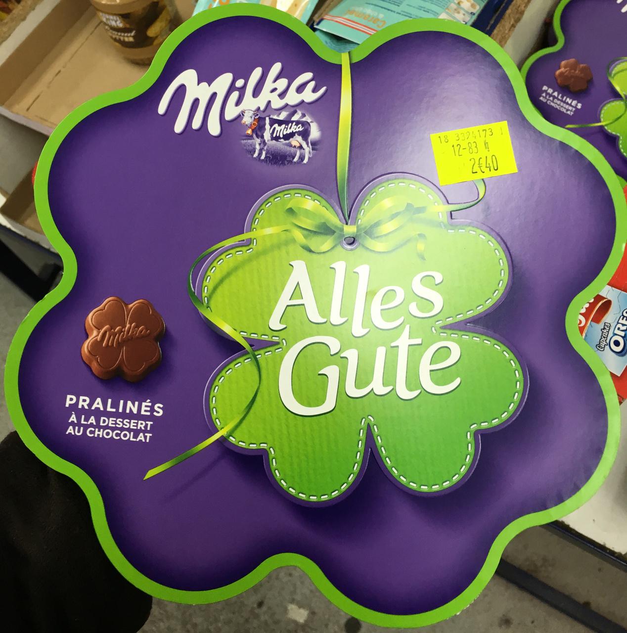 Alles Gute Pralinés à la dessert au chocolat - Produit - fr