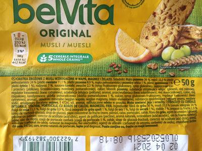 Belvita Breakfast - Ingrédients - en
