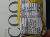 Belvita Breakfast - Informations nutritionnelles - en