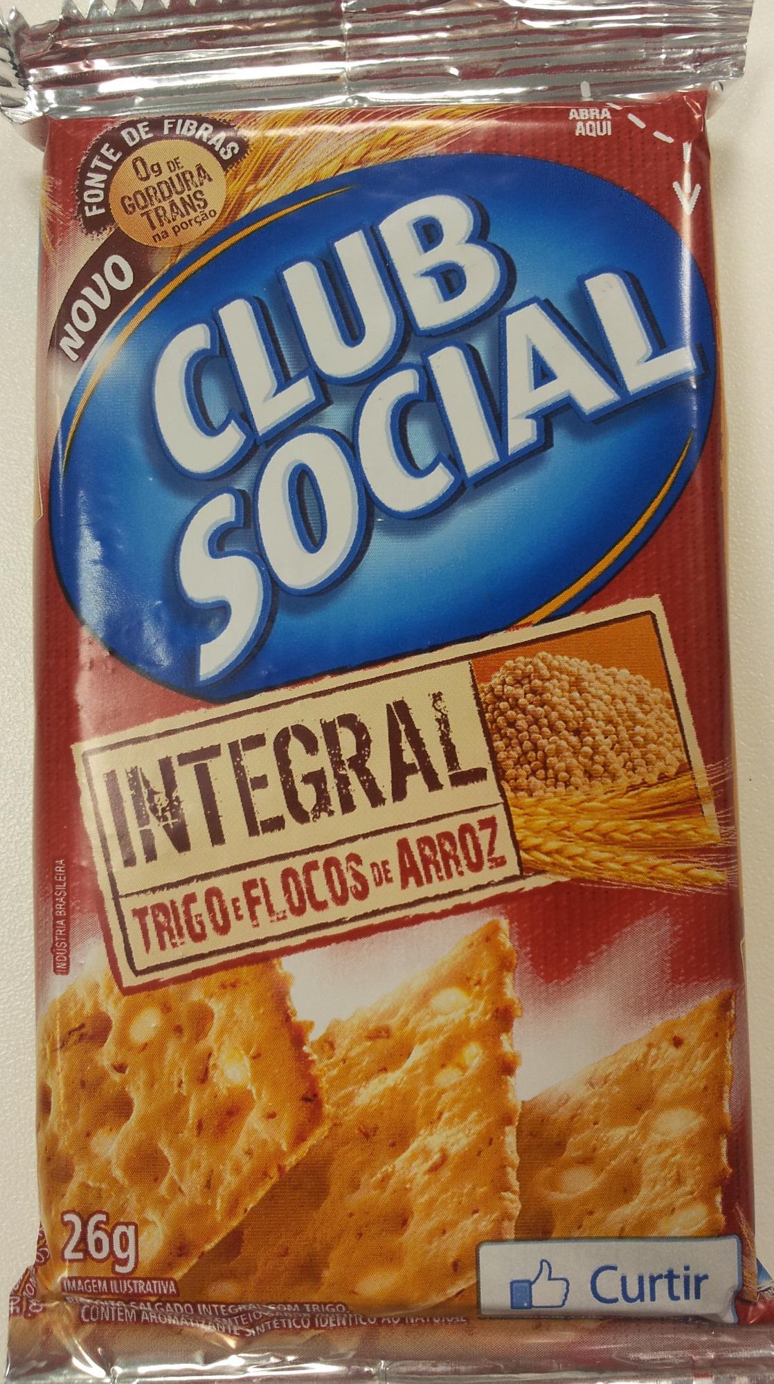Clube Social Integral - Trigo e Flocos de Arroz - Product - pt