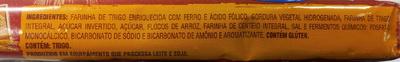 Clube Social Integral - Trigo e Flocos de Arroz - Ingredients - pt