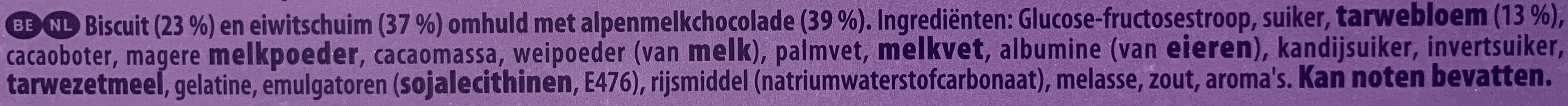 Melo Cakes - Ingrediënten - nl
