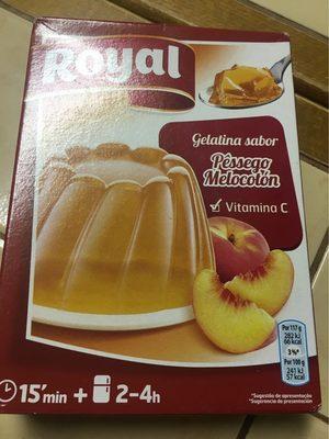 Gelatina De Pessego Royal - Informations nutritionnelles