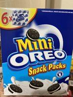 Oreo mini biscuits vanilla - Product - en