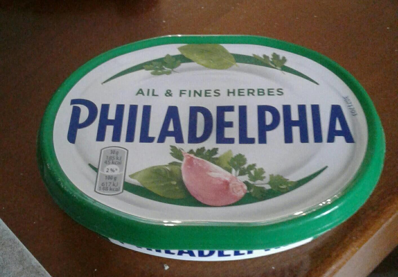 Philadelphia ail et fines herbes - Produit - fr