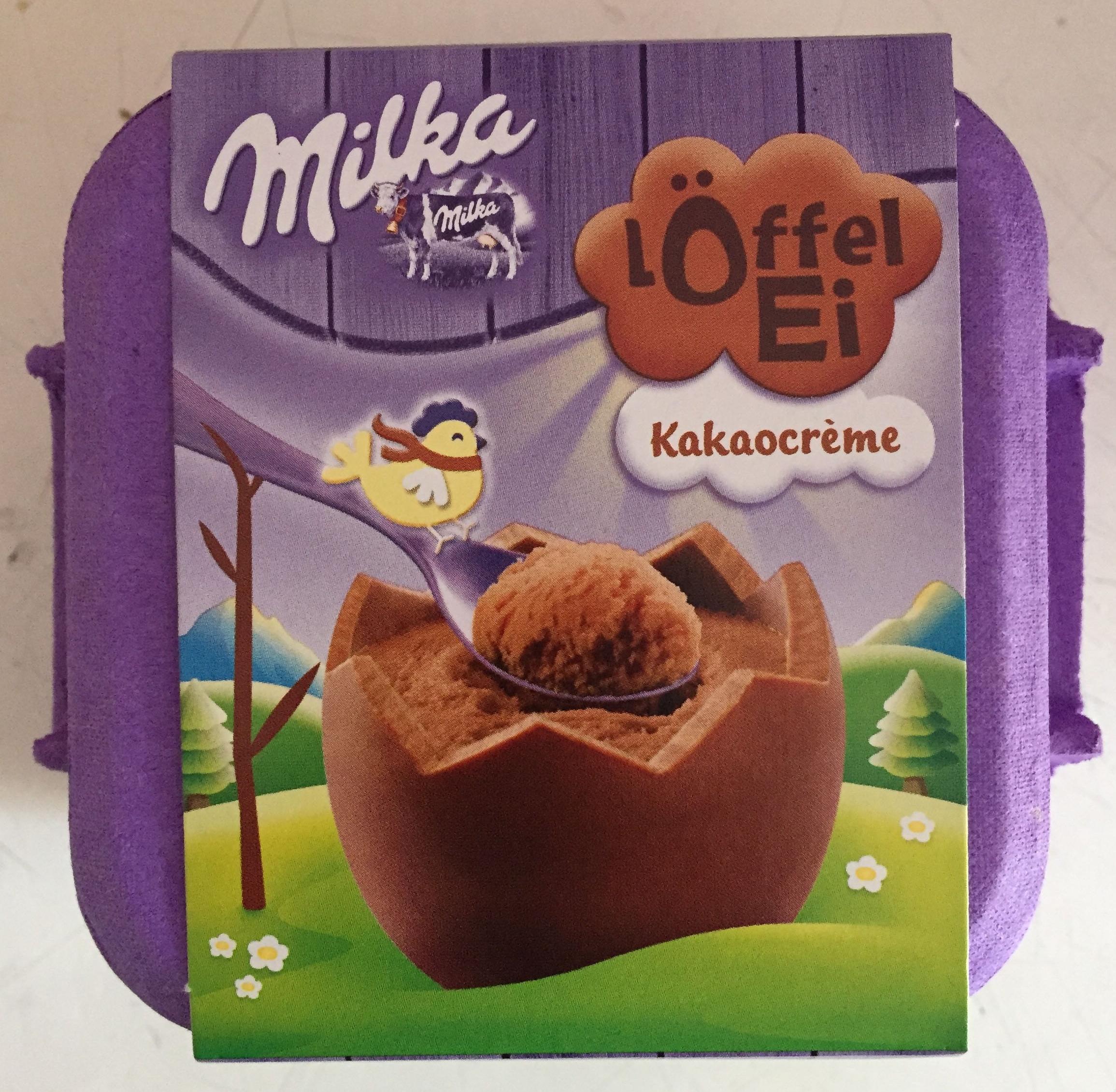 Löffel-Ei Kakaocrème - Produit - fr
