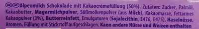 Löffel-Ei Kakaocrème - Ingredients - de
