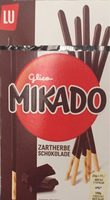 Glico Mikado Zartherbe Schokolade - Produkt