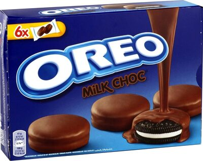 Milk Chocolate Covered Biscuits 6 Pack - Prodotto - en