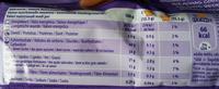 Choco Moo - Biscuits nappés au chocolat au lait du pays Alpin - Informations nutritionnelles - fr