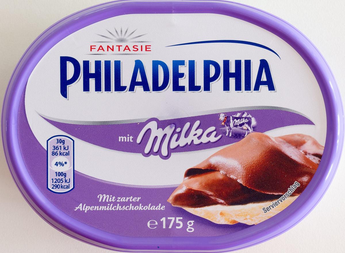 Philadelphia mit Milka - Producto