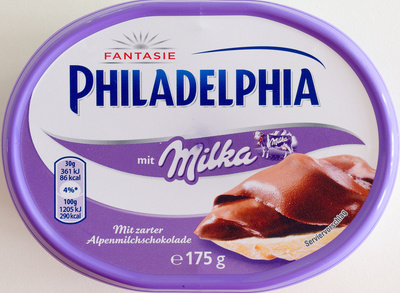 Philadelphia mit Milka - Product - de