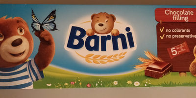 Biscuits Barni With Cocoa Creme - Produit - fr