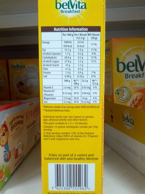 Belvita Honey And Nuts Biscuits 300G - Product