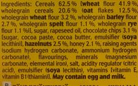 Belvita Honey And Nuts Biscuits 300G - Ingrediënten