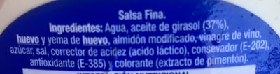 Kraft Salsa Sabor Tradicional - Ingredientes