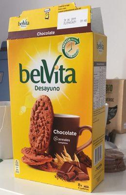 Galleta Belvita 5 Cereales Integrales Choco - Producto - es