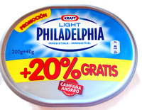 Philadelphia light (+20% gratis) - Product