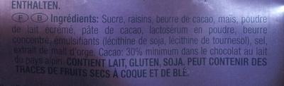 Crispy Snax - Ingrediënten